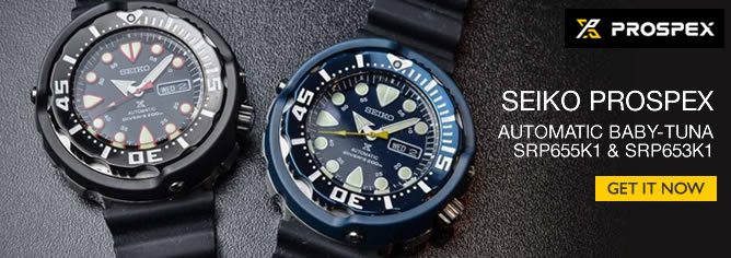 Seiko Prospex Baby Tuna Automatic 50th Anniversary 200M Sport Watch